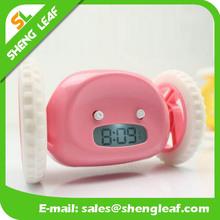 Fashion led clock, running clock, crazy clock