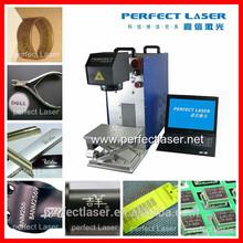 2015 China Machinery Jewelry/ring/code/ Logo 10w 20w portable fiber laser marking machine for bird ring marking machine