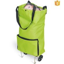 Fashion Folding Shopping Bag With Wheels