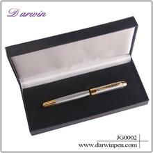 Stationery products copper metal pen cap metal roller pen
