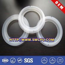 Semi-transparent marine shaft seal ring