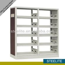 prezzo di fabbrica in acciaio biblioteca rack scaffale scaffale in metallo