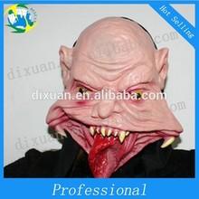 Latex masks bar items terrorist face big ghost face mask