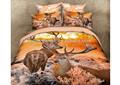 Venta al por mayor baratos 100% de algodón la impresión 3d edredones/cobijas conjunto