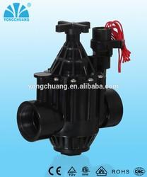 flowrate adjustable plastic lawn irrigation valve IP68