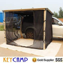 Big sale insect-proof aluminum frame sturdy 4*4 camping roof tent