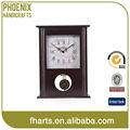 reloj de mesa de personalización de madera reloj de artesanía