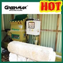 Greenmax EPS foam packaging waste densifier