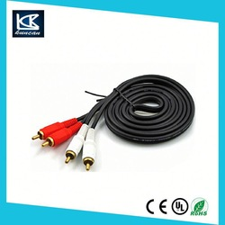 3 RCA Audio/Video Cable
