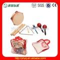 crianças percussão musical conjunto de instrumentos musicais conjunto