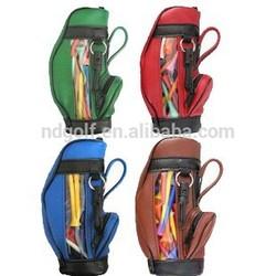 Mini golf tee bag ---golf tee