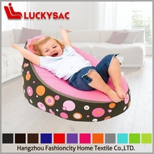 cotton canvas brown baby bean bag/baby beanbag bouncer/infant sleeping bed