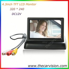 2015 Low Price for bus truck van 2 ways car rearview lcd monitor
