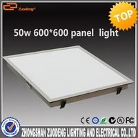 Aladdin China wholesale aluminum 80lm/w 36w 50w led grille panel light