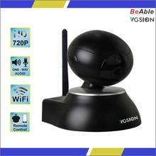With 64 pcs 433 alarm sensor P2P IP Camera Alarm Intelligent Network Pan & Tilt Wifi Camera
