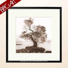 New framed botanical oil paintings winter tree
