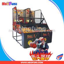 Indoor street basketball arcade game machine/basketball hoop machine/basket ball machine for sale