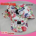 S personalizados upreme 5 panel de sombrero/5 llanura panel de la tapa sombrero de patrón de costura