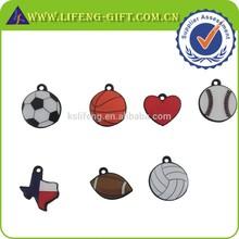 Custom Lapel Pin Dangler, Sports Pendant Charm