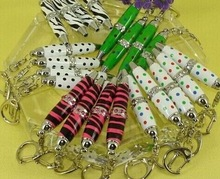 MP253 mini metal rhinestone Crystal keychain pen