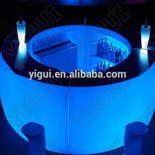 2015 colourful wedding bar counter table/Modern Design Top furniture bar counter