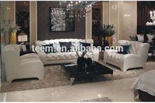 Divany Furniture modern living room sofa Italian design high back chesterfield leather sofa