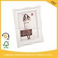 cosecha de madera marco de imagen con el color blanco mejor precio venta caliente marco de imagen