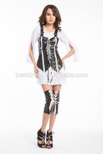 2015 est Womens Black Leather Pirate Bucaneer Ladies Fancy Dress Costume
