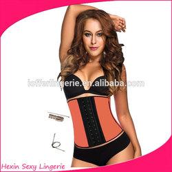Hot Sale Body Shaper Sexy Corset Latex Waist Cinchers