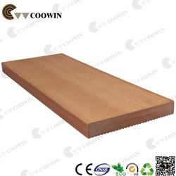 Natural plastic wpc planks texture wood