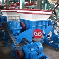 Low maintenance cost economic biaxial shredding machine for plastic