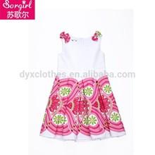 El más reciente de la moda y de los niños niñas vestidos de noche, vestidos de cumpleaños para las niñas, cenicienta vestidos para niñas