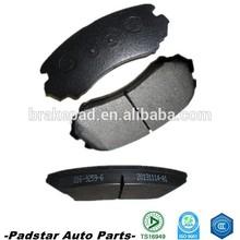 car spare parts ceramic disc brake pads Auto brake pads for HONDA CIVIC