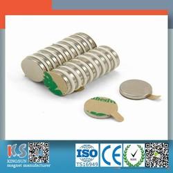 3M Adhesive Packing Sewing Permanent Neodymium Monopole Magnet