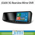 Jimi 1080p mais novo gps 3g espelho retrovisor sem fio câmera de visão traseira 4.2( 720p)/4.4( 1080p) do sistema