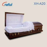 American Style Funeral Casket Coffin for sale(XH-A20)adult coffin