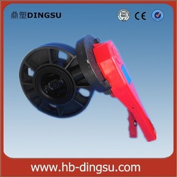 Handle Operated Lever Type PVC Butterfly Valve for Irrigation