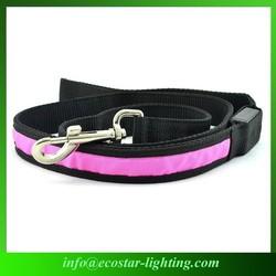 Flashing Dog Leashes Customized LED Flashing Dog Leash