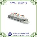 resina modelo de navio de miniaturas de navios de cruzeiro