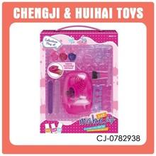 Hot funny mini playset nail polish toy girls make up set toy