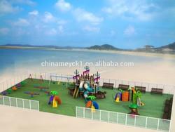 Beautiful beach playground outside