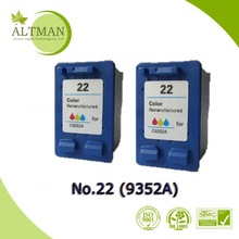 Remanufactured ink cartridge , ink cartridge 22,C9352A,best selling products