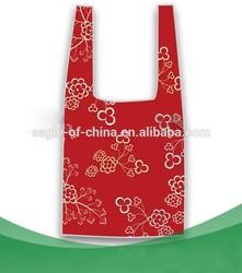 reusable high quality foldable shoulders shopping bag