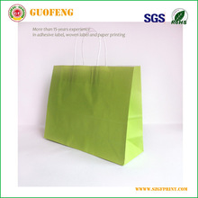 2015 Best quality and competitive price kraft paper bag with logo print