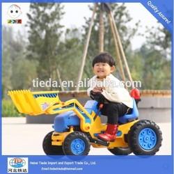 electric children toy car engineering bulldozer