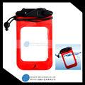 El más reciente 2015 promocional abs+pvc teléfono celular a prueba de agua bolsa seca