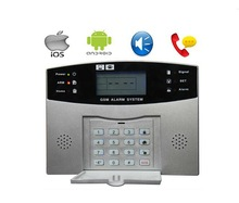 FDL-S100Pro Security Kit with 96 wireless zones and LCD display,SOS by remote control or keyboard