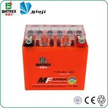 Best Gel 12V Lead Acid Dry Motorcycle Battery for YTX5L-BS