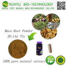GMP supply anti-fatigue improve sex life natural organic maca root maca extract powder 5:1. 10:1. 20:1 by TLC