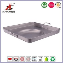 large size stainless steel cooking pans